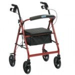 4 wheel lightweight walker