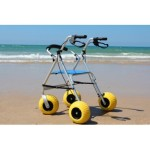 BEACH WALKER WITH SEAT