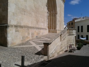 Access to the magnificent  St. Eulalia Church