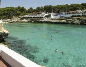 Typical Menorcan Cove