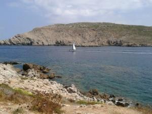 Fornells Bay