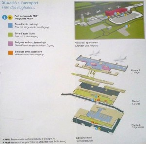 Mahon Airport Map