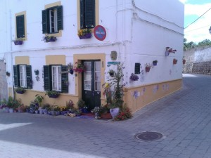 Typical Menorcan Town House