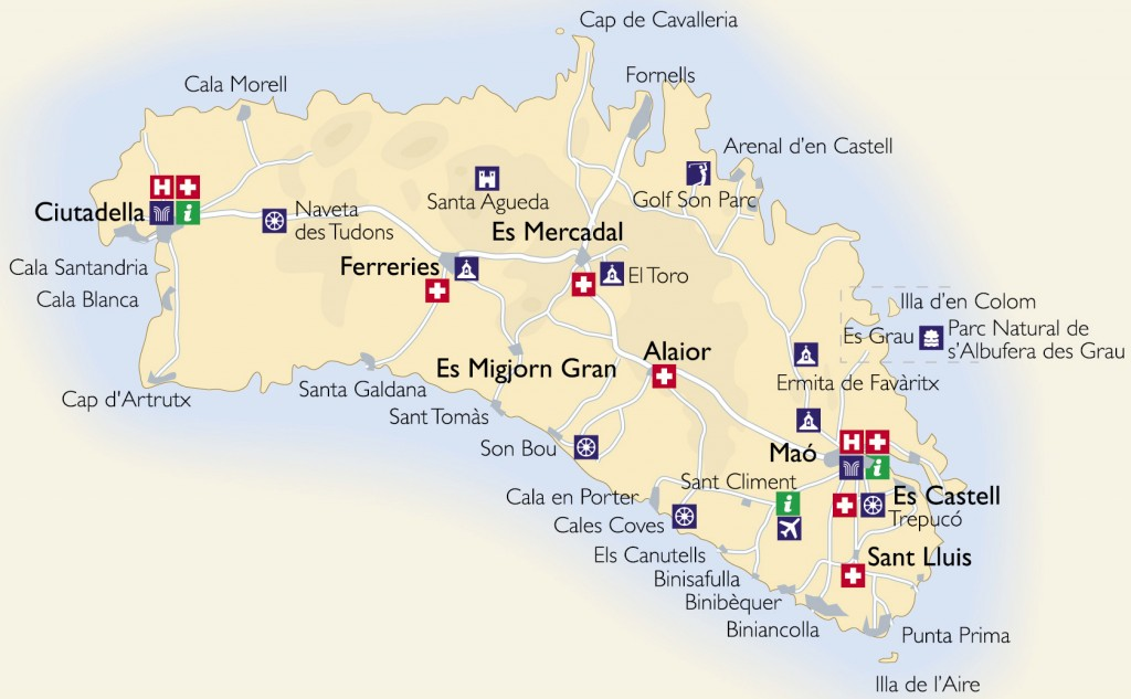 Map of accessible Beaches