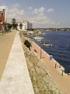 villa Carlos Promenade along seafront